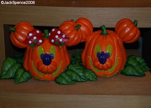Halloween Mickey and Minnie big Fig