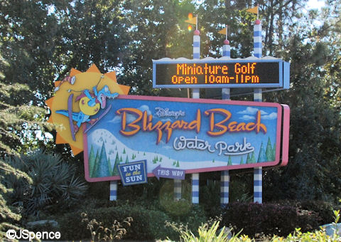 Blizzard Beach Street Entrance