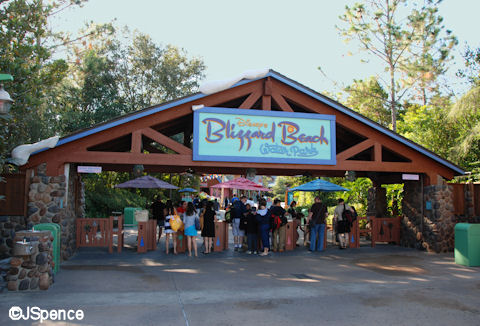 Blizzard Beach Park Entrance