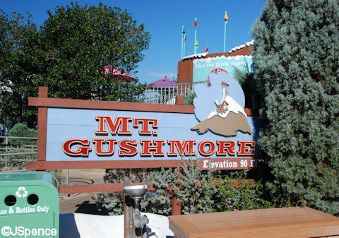 Mt. Gushmore Sign