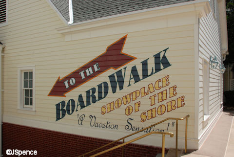 Directions to the BoardWalk