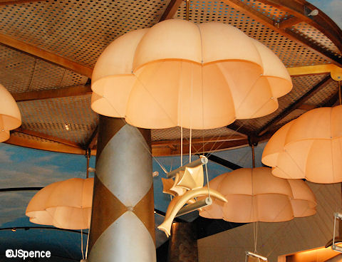 Flying Fish Cafe Fish Lamps
