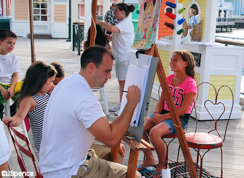 BoardWalk Caricatures