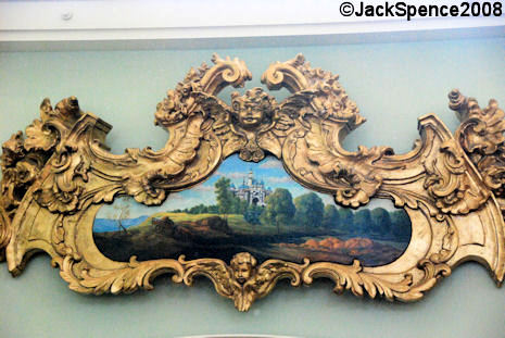 Gold Framed Castle