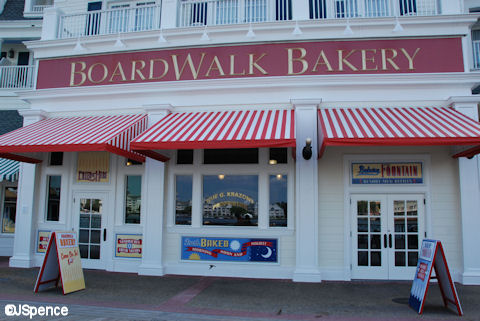 Boardwalk Bakery Exterior