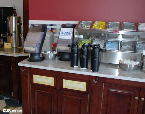 Condiment and Fountain Drinks