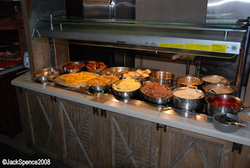 Breakfast Buffet Trails End Restaurant at the Fort Wilderness Campground