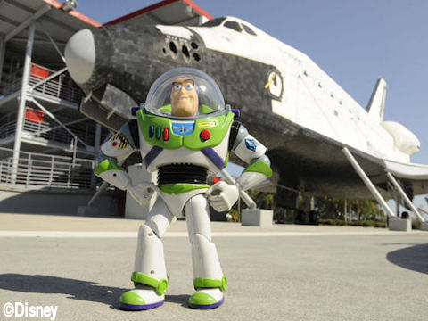 Buzz and the Space Shuttle