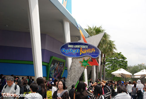 Buzz Lightyear's Astro Blasters Tokyo Disneyland