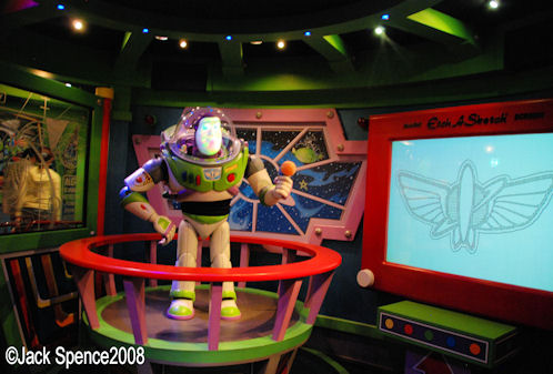 Image result for buzz lightyear astro blasters disneyland ca