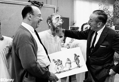 Marc Davis and Walt Disney