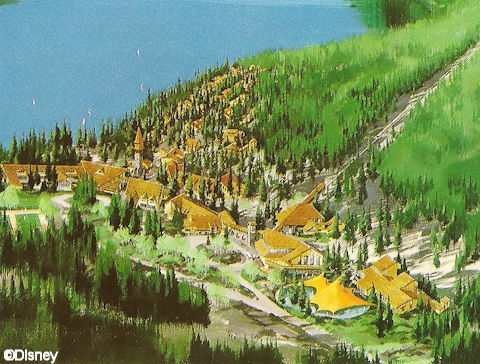 Independence Lake Concept Drawing