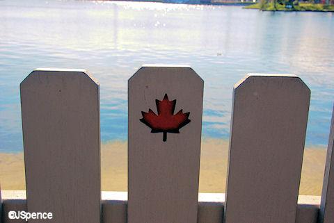 Maple Leaf Fence