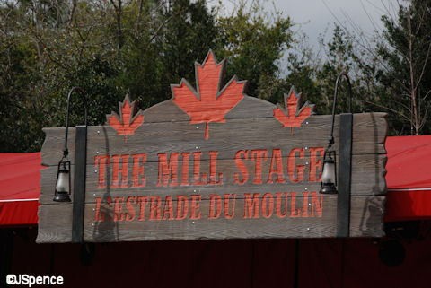 The Mill Stage