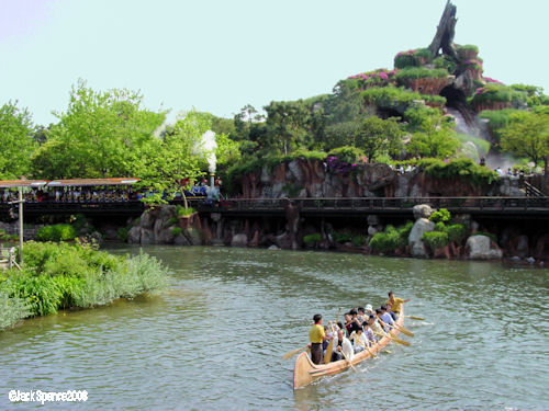 Beaver Brother's Explorer Canoes Tokyo Disneyland