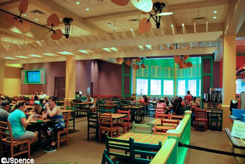 Food Court Dining Room