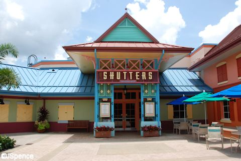 Shutters Main Entrance
