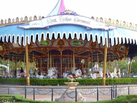 Carousel Or Carrousel Disney Style Allears Net