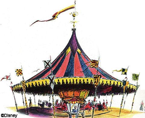 Carousel Concept Art