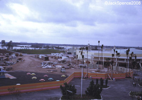 Future Home of the Carousel of Progress Magic Kingdom 1973