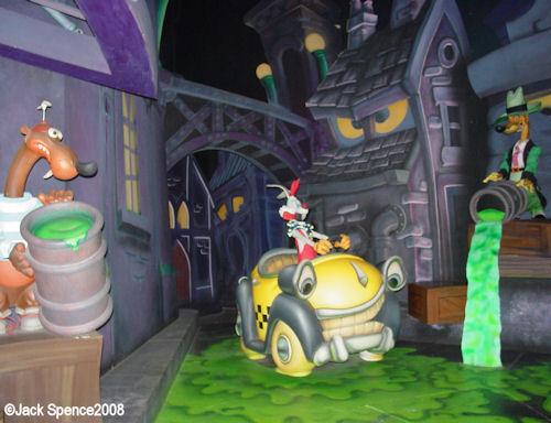 Roger Rabbit's Car Toon Spin Tokyo Disneyland