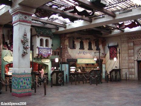 Casbah Food Court  Arabian Coast - Tokyo DisneySea