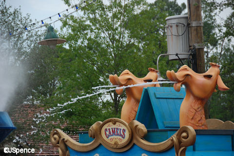 Casey Jr. Splash and Soak Station