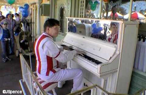 Main Street Piano Player