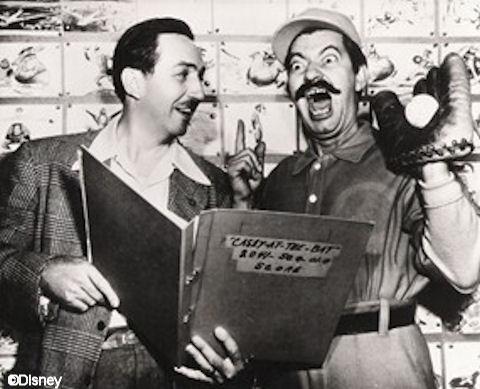Walt Disney & Jerry Colonna