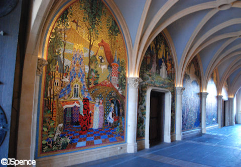 Castle Walkway and Murals