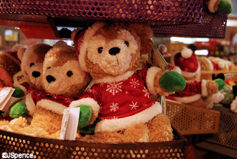 Christmas Duffy Bear