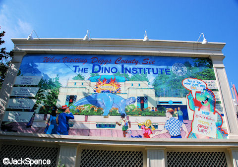 Dino Institute Billboard