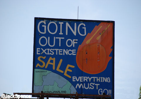 Going out of existence sale