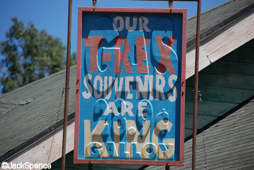 Reused Gas Sign