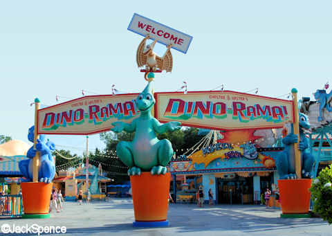 Chester & Hester's Dino-Rama Main Entrance