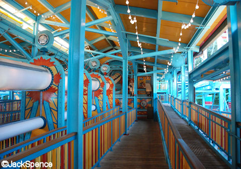 Queue and Time Machine