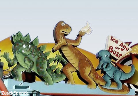 Hitchhiking Dinosaurs