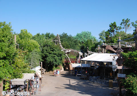 View from TriceraTop Spin