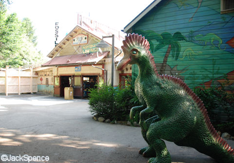 Whimsical Dinosaur Photo Op