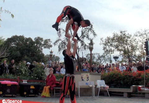 The Jeweled Dragon Acrobats