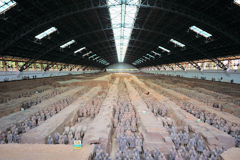 Terracotta Army at Xi'an