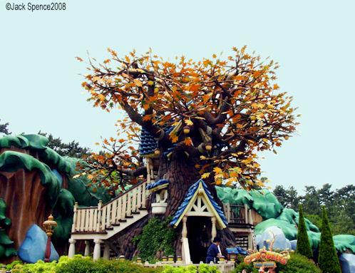 Chip 'n Dales Treehouse Tokyo Disneyland