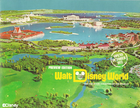 E.P.C.O.T: Le projet original de Walt Disney (ville, complexe industriel, aéroport, centre urbain, world showcase) City%20of%20Epcot%2001