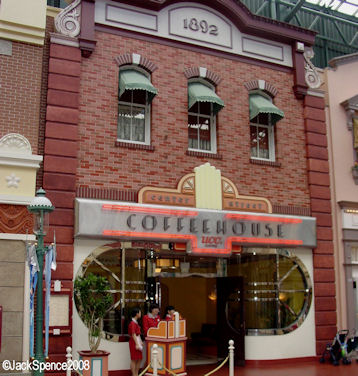 Center Street Coffeehouse at Tokyo Disneyland
