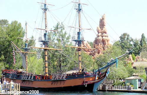 Columbia Sailing Ship