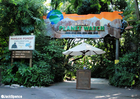 Rafiki's Planet Watch Entrance