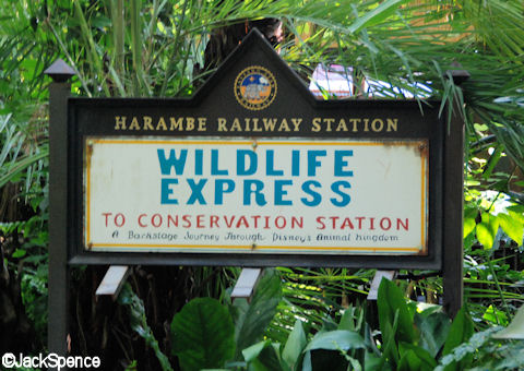 Wildlife Express Sign