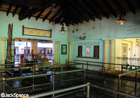 Harambe Station Queue