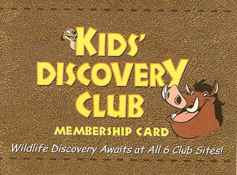 Kids' Discovery Card