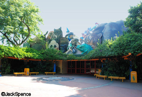 Conservation Station Entrance